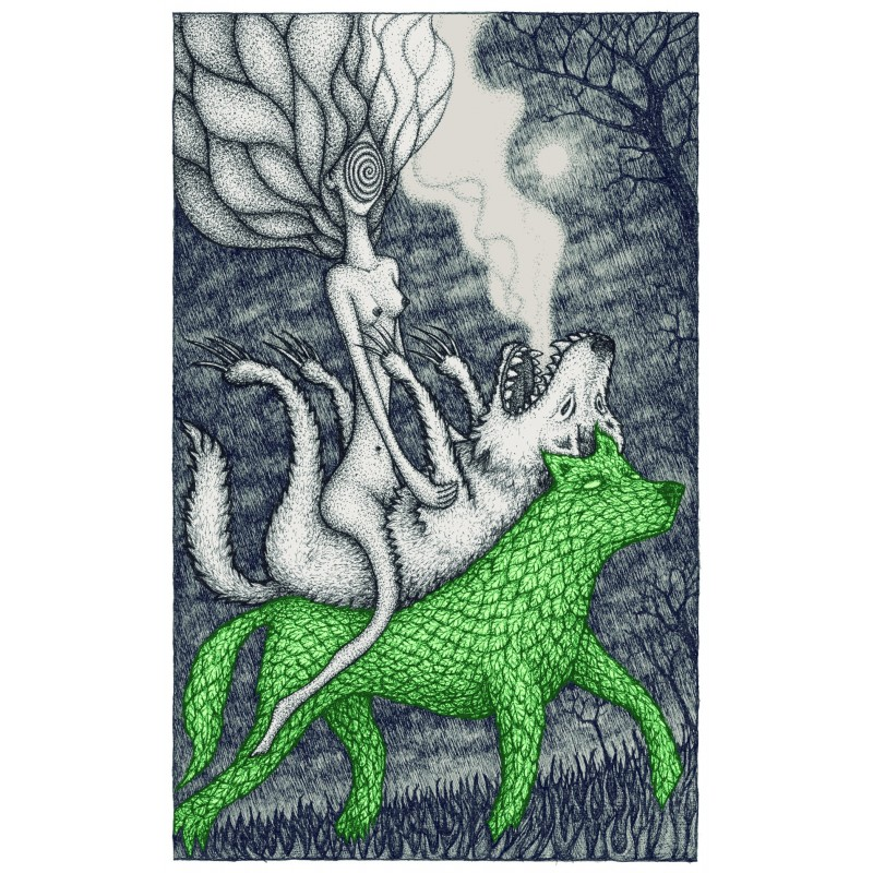 Loup vert ou l'amisanthrope - limited edition