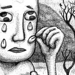 Pleure pétale