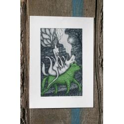 Loup vert ou l'amisanthrope - edition limitée